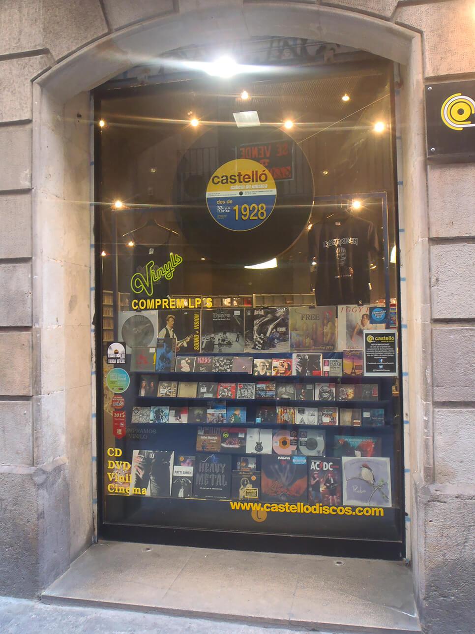 Discos Castello in Barcelona