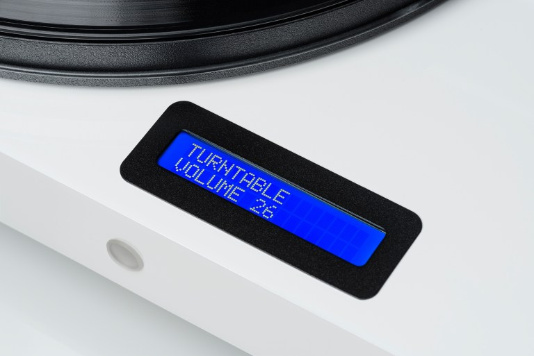 Handige display van de Pro-ject Juke Box E